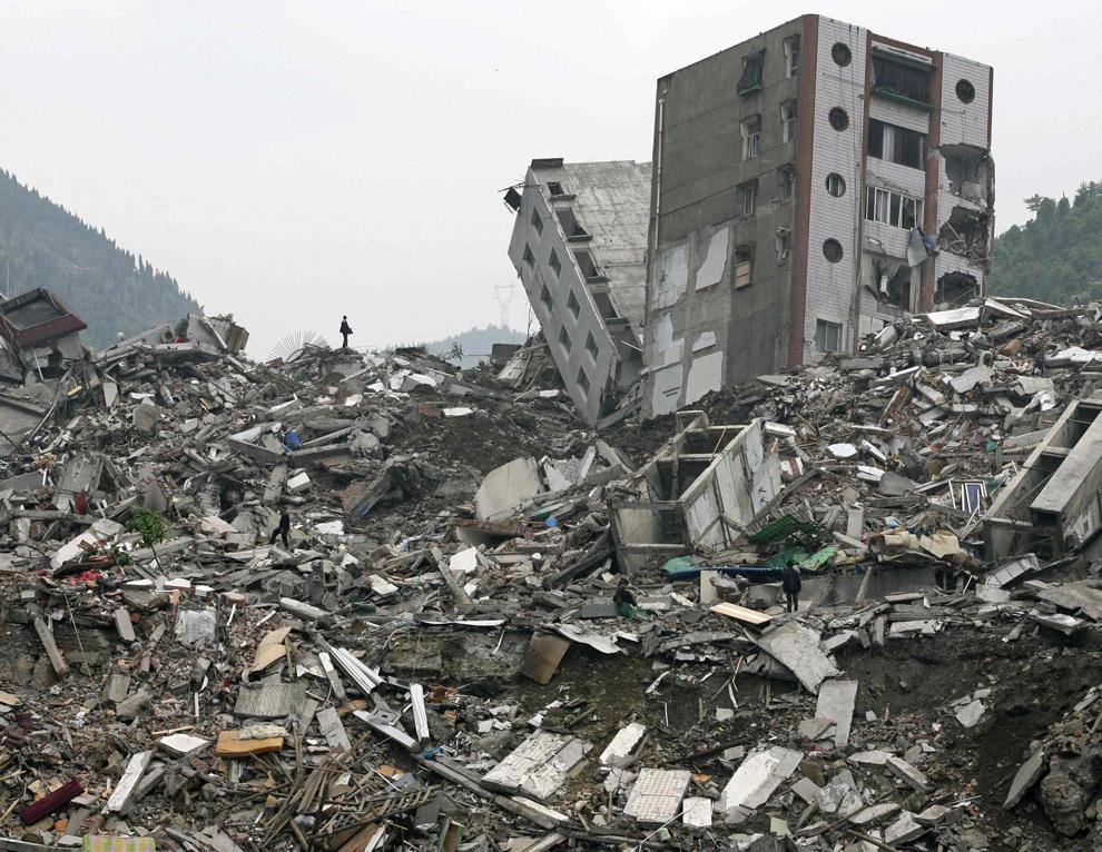 Earthquake damage grade 5 6 at al siraat for Where to go in an earthquake